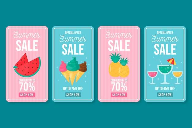 Hello summer sale instagram story