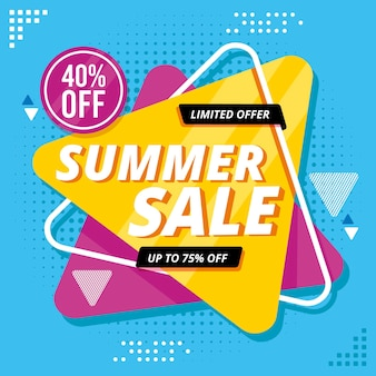 Hello summer sale with discount