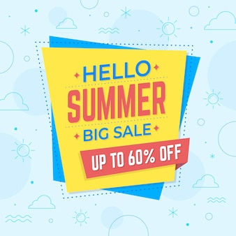Hello summer sale with offer