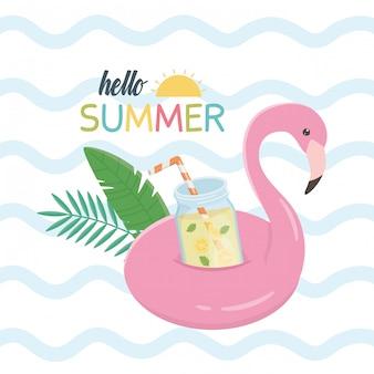 플랑드르 플로트 아이콘 안녕하세요 여름
