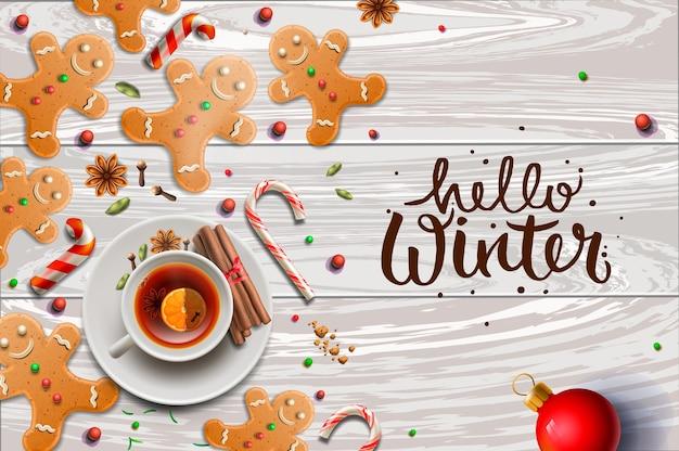 Hello winter, gingerbread cookies