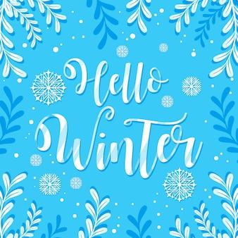 Ciao inverno - scritte