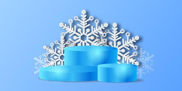 Hello winter luxury элегантное украшение из хрустальной снежинки с блестками и подиумный сценический продукт для декоративного фона