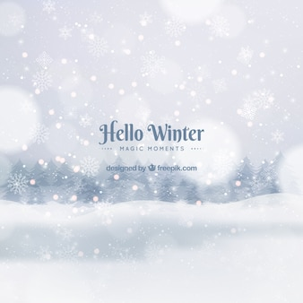 Hello winter, magic moments