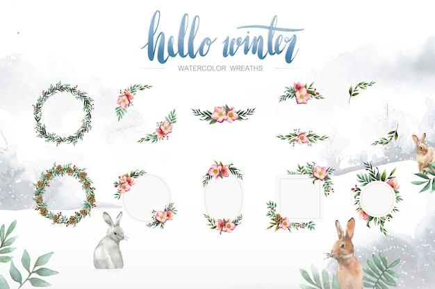Hello winter set