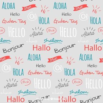 Hello words pattern в разных языках