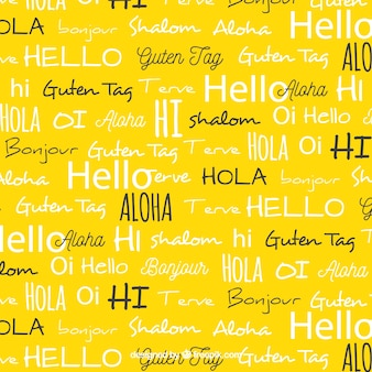 Hello words pattern в разных языках
