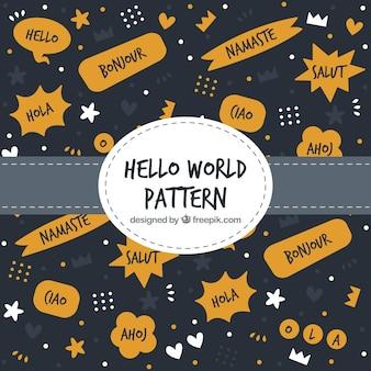 Hello world pattern concept
