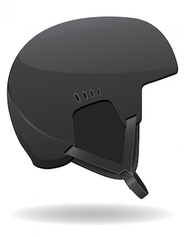 Helmet for snowboarding.