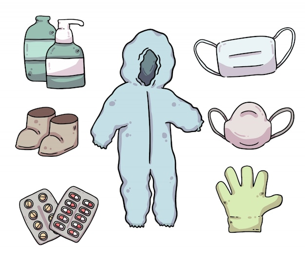 Helpful protective equipments donation for covid-19