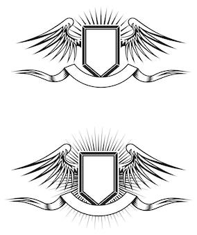 Heraldic emblems