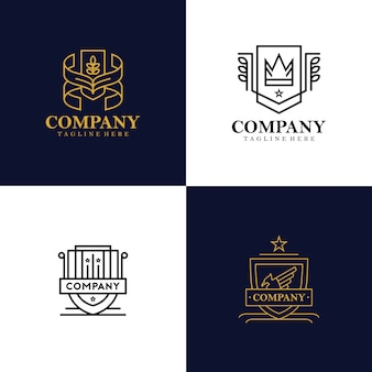 Heraldry logo collection