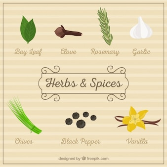 Herbs and spices pack
