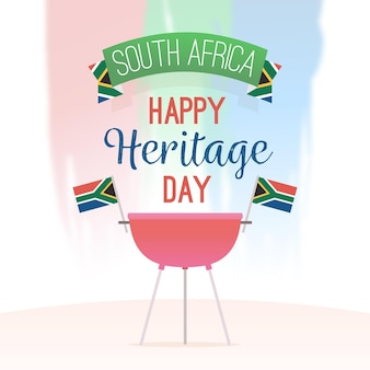 Heritage day with barbecue