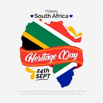 Heritage day with map