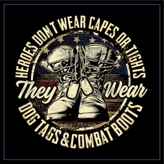 Heroes don't weat caper or tights