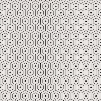 Hexagon background pattern vector for wallpaper texture tile