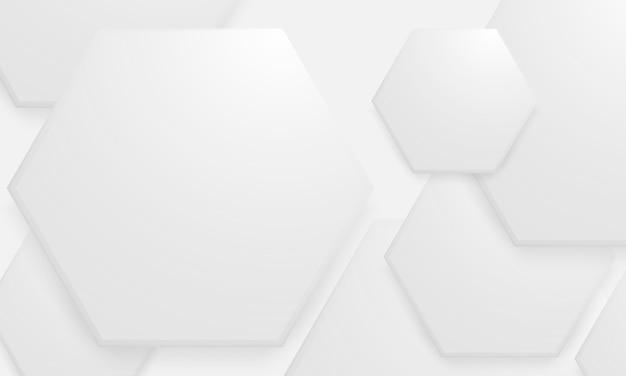 Hexagon concept design abstract technology background