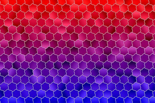 육각형 기하학적 배경. 다각형 벽지. 육각 완벽 한 패턴입니다.