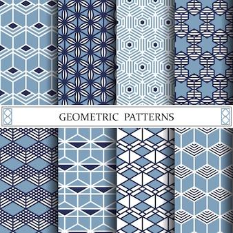 六角形幾何ベクトルパターン