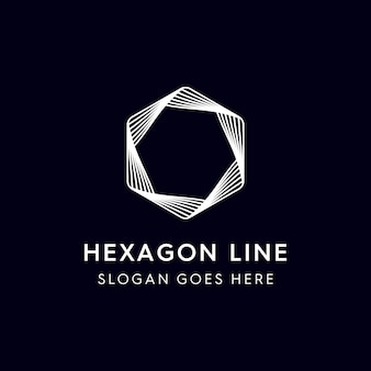 Hexagon line