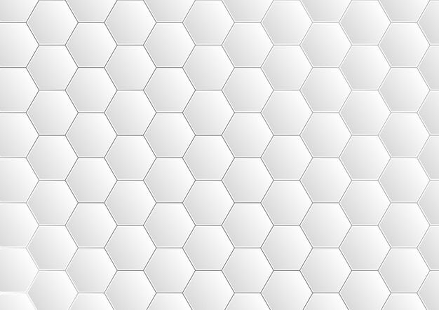 Hexagon pattern grid background, abstract modern futuristic design.