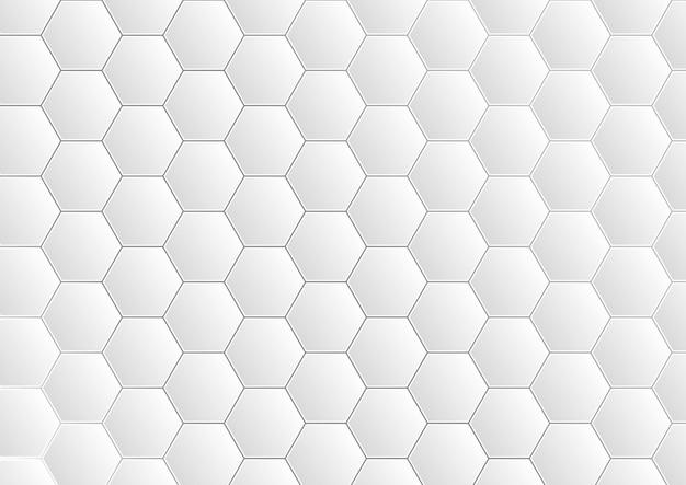 육각형 패턴 그리드 배경, 추상적 인 현대 미래 디자인.