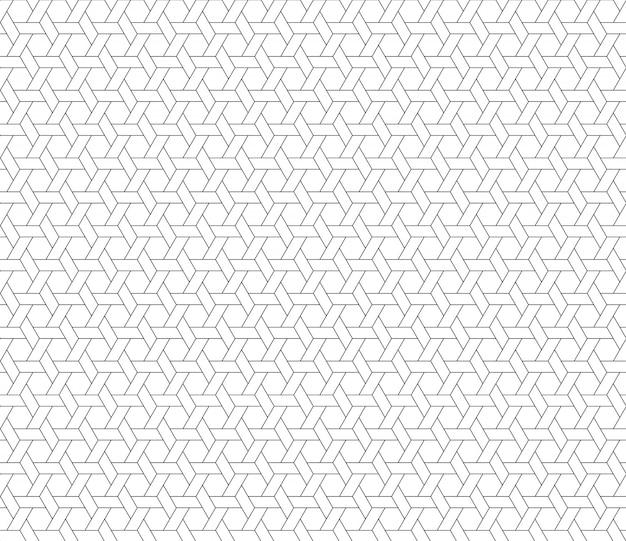 육각형 스타 완벽 한 패턴 배경