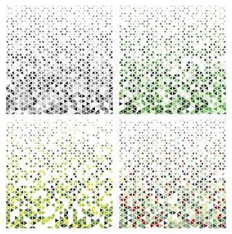 Hexagonal halftone pattern
