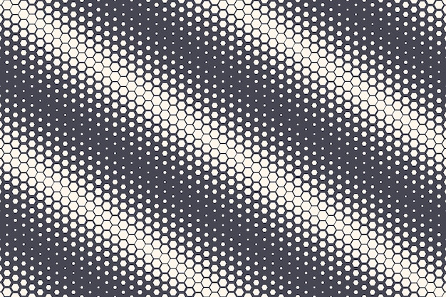 Шестиугольные полутоновые текстуры геометрической структуры абстрактный фон