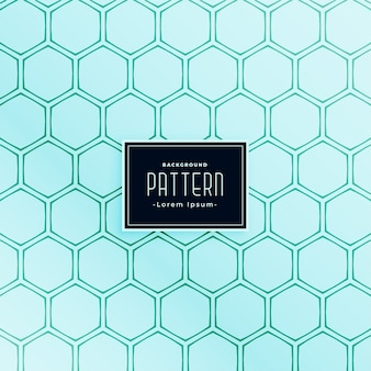 Hexagonal shape style line seamless pattern design