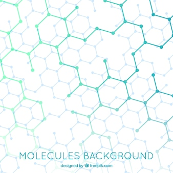 Hexagonal structure background