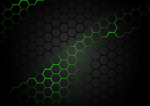 Гексагональная технология фон