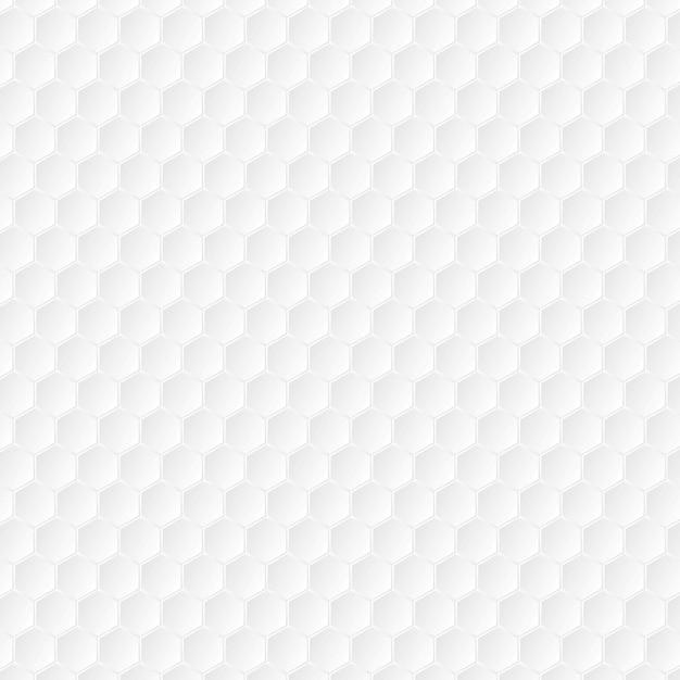 Hexagons paper tech texture. vector background
