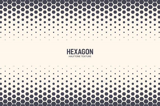 Hexagons pattern border technology abstract geometric background