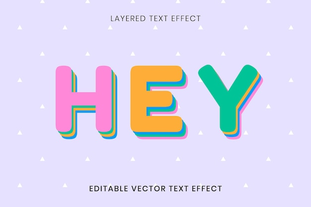 Hey greeting editable text