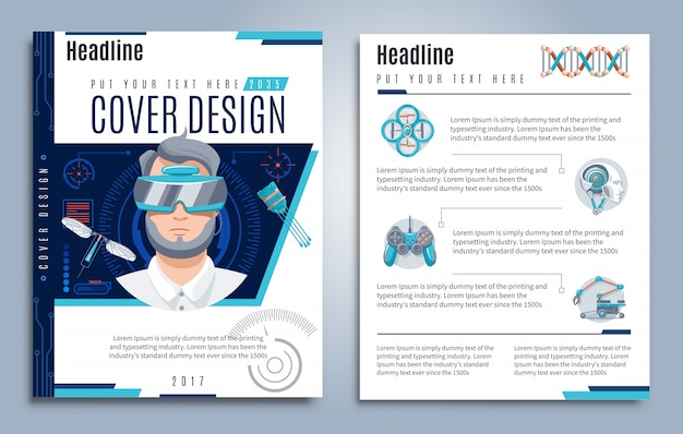 Hi-tech presentation template