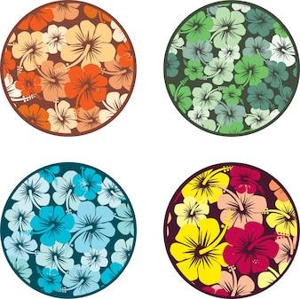 Hibiscus flowers design