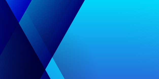 High contrast light and dark blue glossy stripes. abstract tech graphic banner design.