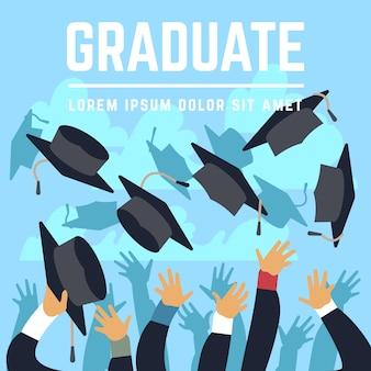 High school graduating students