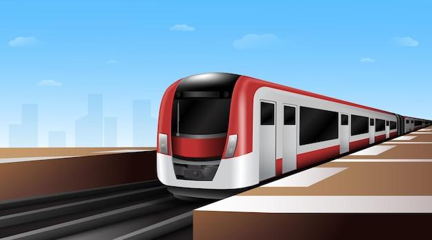 高速電車 Premiumベクター
