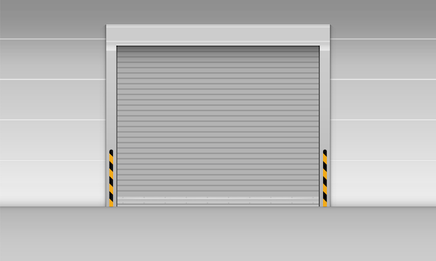 High speed rolling door of storage warehouse., shutter door.