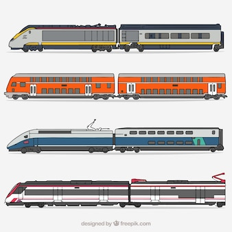 High speed train collection