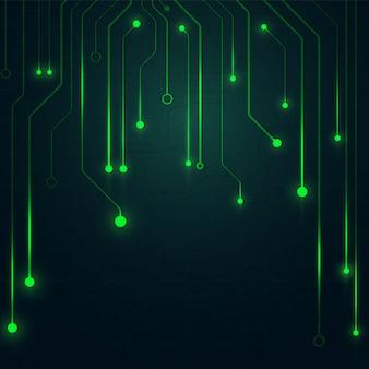 High tech  geometric background