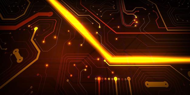 Высокотехнологичные технологии современного дизайна цифровой концепции. абстрактный фон текстура