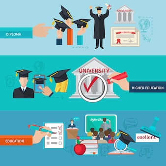 高等教育バナーセット