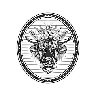 Иллюстрация горного скота