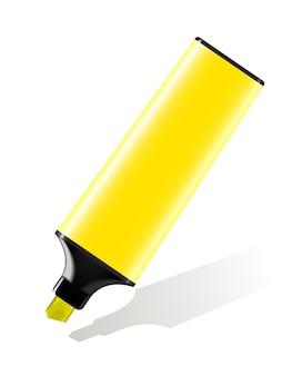 Хайлайтер желтый