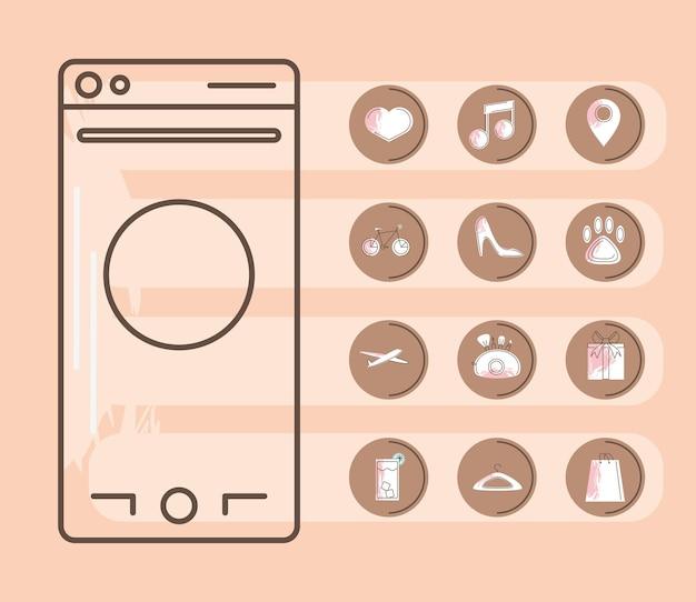Подчеркивает мобильные обложки