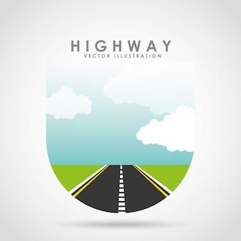 高速道路 Premiumベクター